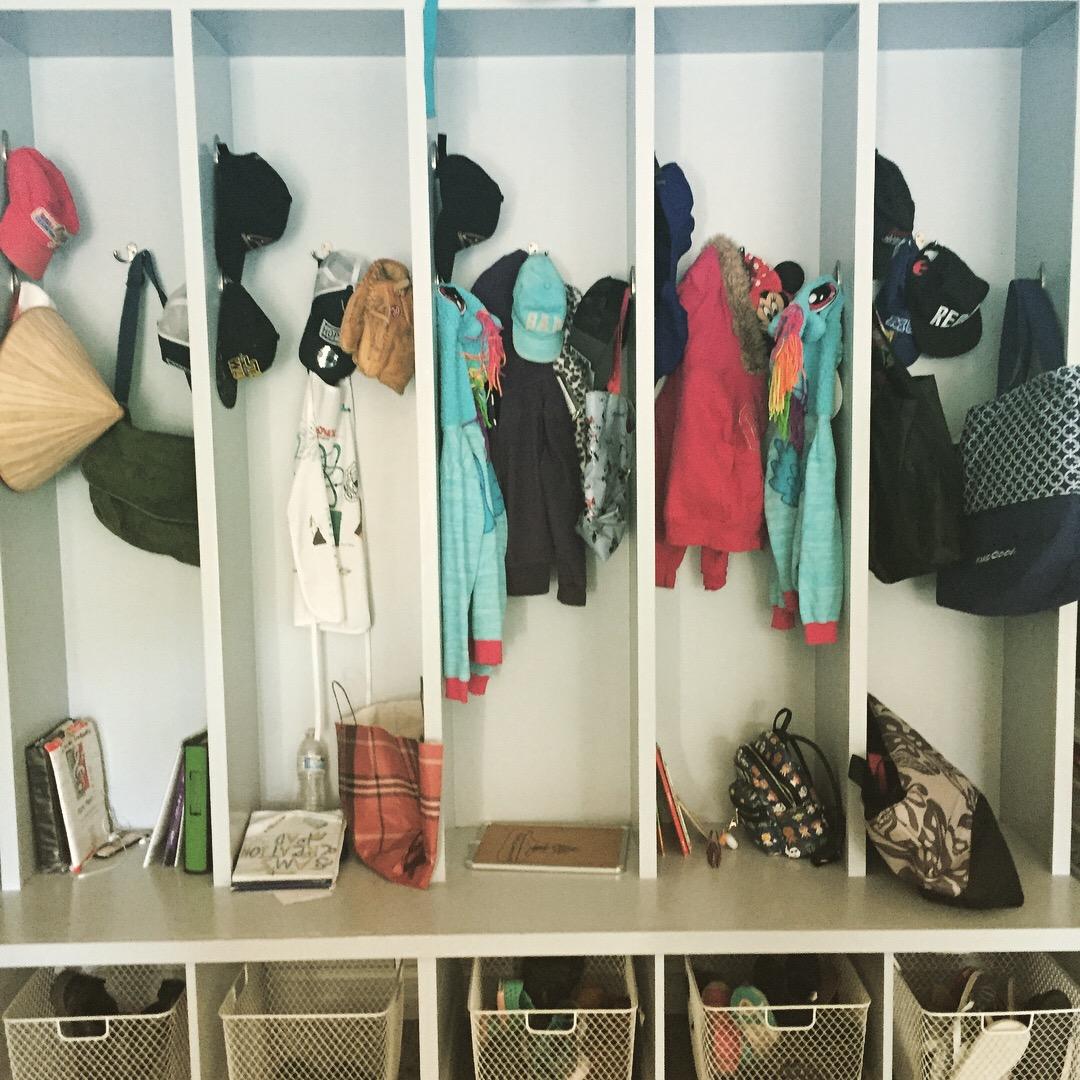 Organized Lockers